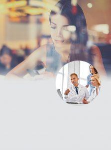 Zebyl chatbot and landline texting for medical professionals